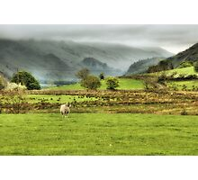 Mist rolling in.. Photographic Print