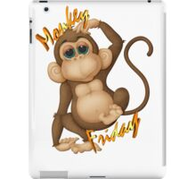 Monkey Friday iPad Case/Skin