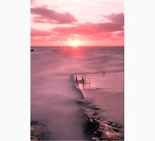Bude, Cornwall, UK, Tidal Pool Sunset ~ Atlantic Coast Unisex T-Shirt