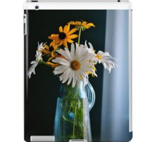 Another Blue Pitcher Bouquet iPad Case/Skin