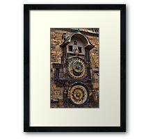 †† Prague Astronomical Clock †† Framed Print