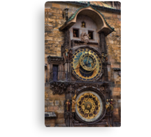 †† Prague Astronomical Clock †† Canvas Print