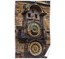 †† Prague Astronomical Clock †† Poster