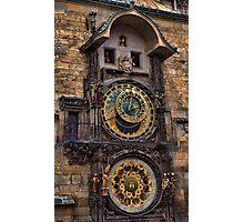 †† Prague Astronomical Clock †† Photographic Print