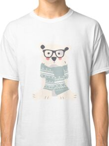 Polar bear, pattern 001 Classic T-Shirt