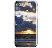 Dramatic sunset iPhone Case/Skin