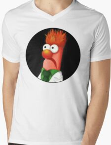 Beaker Mens V-Neck T-Shirt