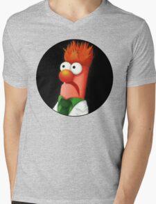 Beaker Mens V-Neck T-Shirt