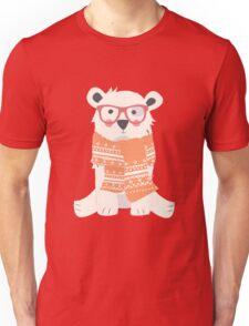 Polar bear, pattern 002 Unisex T-Shirt