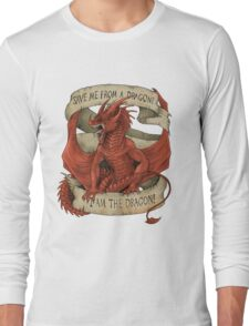 I am the Dragon - Red Long Sleeve T-Shirt