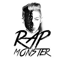 BTS - Rap Monster Photographic Print