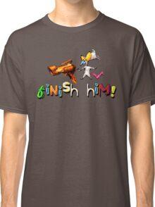 Earthworm Jim - Finish Him! Classic T-Shirt