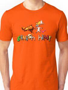 Earthworm Jim - Finish Him! Unisex T-Shirt