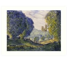 Bridlington Priory from Woldgate Art Print