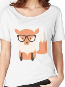 Christmas fox, pattern 001 Women's Relaxed Fit T-Shirt