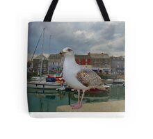 Padstow, Cornwall, UK, The Seagull ~ Atlantic Coast Tote Bag