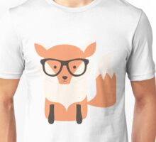 Christmas fox, pattern 002 Unisex T-Shirt