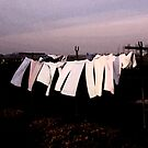 Washday Amsterdam by Wayne King