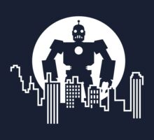 Giant  Robot - City Skyline Kids Tee