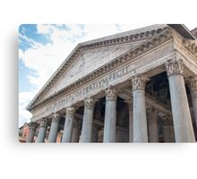 The Pantheon, Rome Canvas Print
