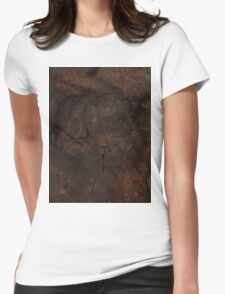 DISINTEGRATING (Damaged) Womens Fitted T-Shirt