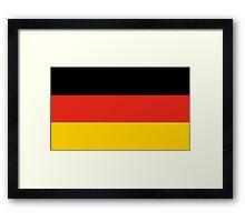 German flag Framed Print