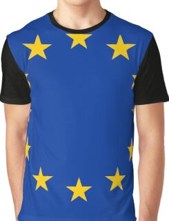 Flag of Europe Graphic T-Shirt
