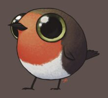 Cute Fat Robin Baby Tee