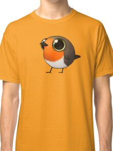 Cute Fat Robin Classic T-Shirt