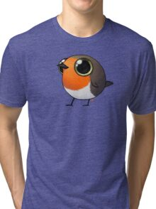 Cute Fat Robin Tri-blend T-Shirt