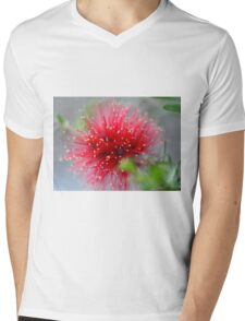 Bottlebrush Beauty Mens V-Neck T-Shirt