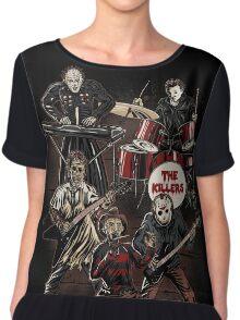 Death Metal Killer Music Horror Chiffon Top