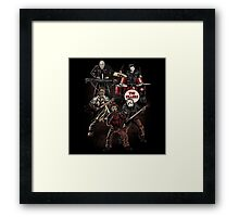 Death Metal Killer Music Horror Framed Print