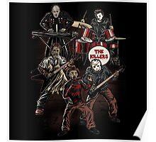 Death Metal Killer Music Horror Poster