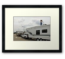 ☜ ☝ ☞ SOME PHOTOGRAPHERS WILL CLIMB 2 NEW HEIGHTS TO GET THAT PERFECT CAPTURE ☜ ☝ ☞ Framed Print