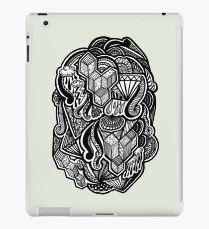 Floating Cubes iPad Case/Skin