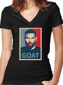 Dan Bilzerian - Goat Women's Fitted V-Neck T-Shirt