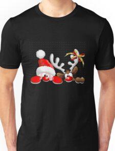 Funny Christmas Santa Unisex T-Shirt