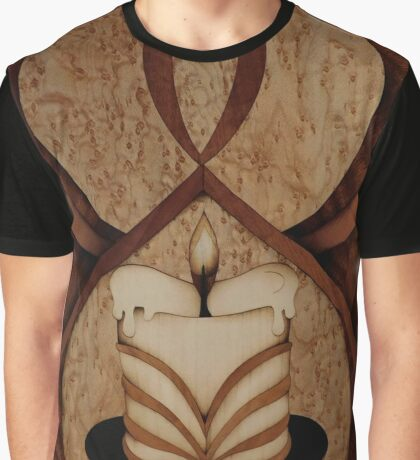Fantasy of candle mood marquetry Graphic T-Shirt