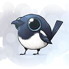 Cute Fat Magpie by Demmy