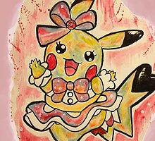 Cute Pikachu Dress Tshirts + More! by Jonny2may