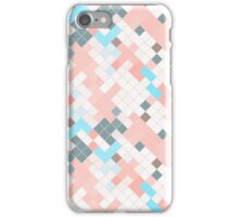 Abstract square color background for design iPhone Case/Skin