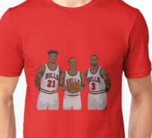 Bulls Big Three Unisex T-Shirt