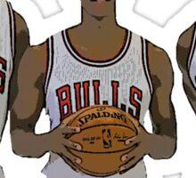 Bulls Big Three Sticker