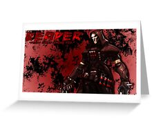 OVERWATCH REAPER Greeting Card