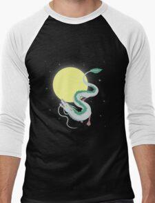 Spirited to the Moon Men's Baseball ¾ T-Shirt
