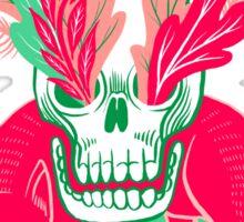 Cat Skull Garden Sticker
