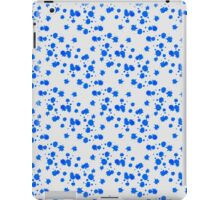 Blot abstract color shape pattern iPad Case/Skin