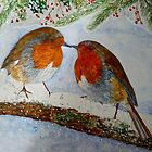 CHRISTMAS CARD EFFECT by Marilyn Grimble