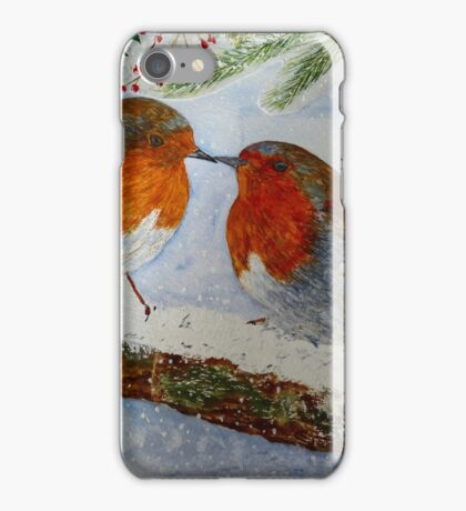 CHRISTMAS CARD EFFECT iPhone Case/Skin